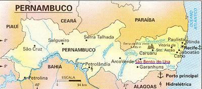 KAART van                               PERNAMBUCO